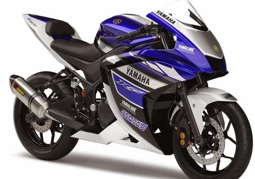 Bentuk Yamaha R15 Versi Indonesia