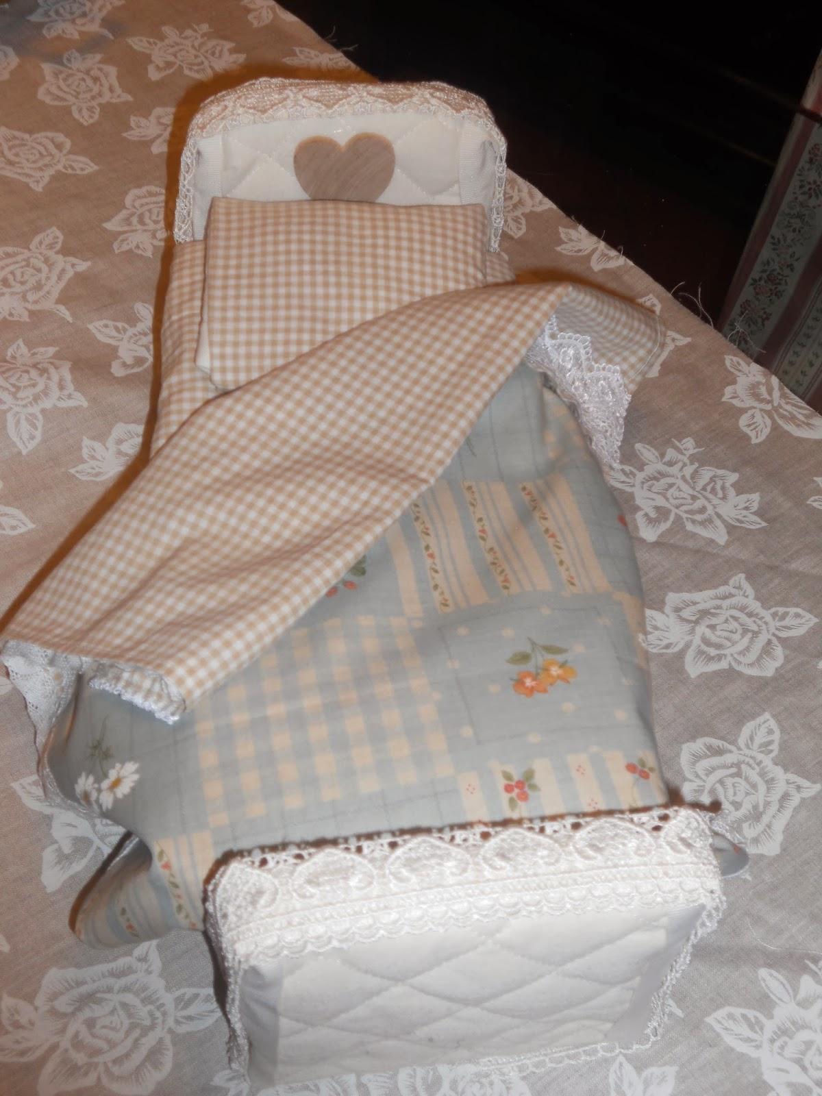 Creare con il country decorative shabby letto per barbie - Letto barbie prezzo ...