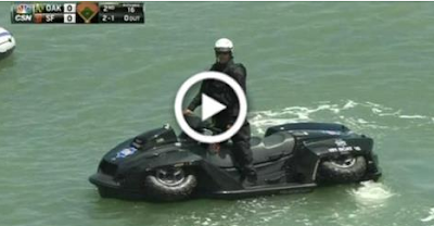 Απίστευτο αμφίβιο όχημα που χρησιμοποιεί η αστυνομία του Σαν Φρανσίσκο!