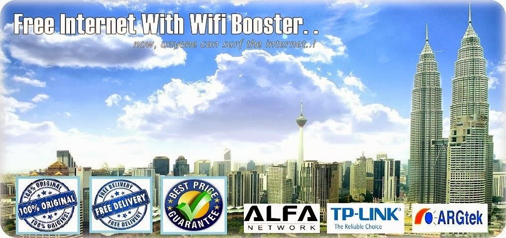 Laman Niaga WiFi Booster Malaysia