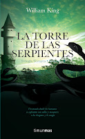 "Portada de ""La Torre de las serpientes"", de William King"