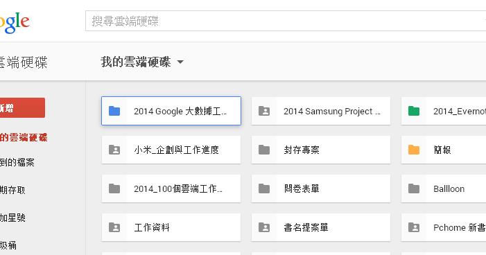 活用 Google Drive 雲端硬碟 12個激發工作潛能技巧教學