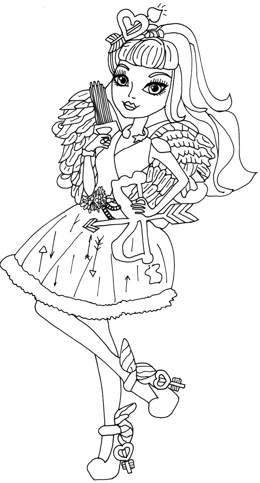 Free Printable Ever After High Coloring Pages January 2014