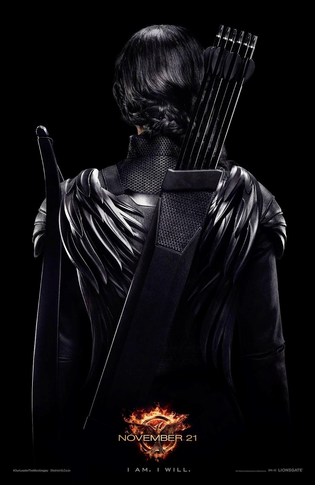 Katniss Mockingjay Poster