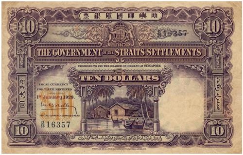 1929 $10 Banknote