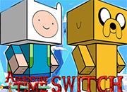 Hora de aventura Switch juego