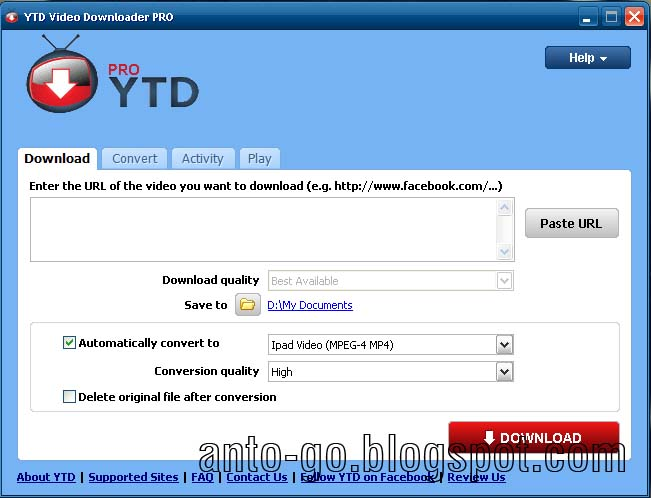 YouTube Downloader Pro 4.0 Full Patch | aNto-Go Blog