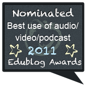2011 Edublog Nominee