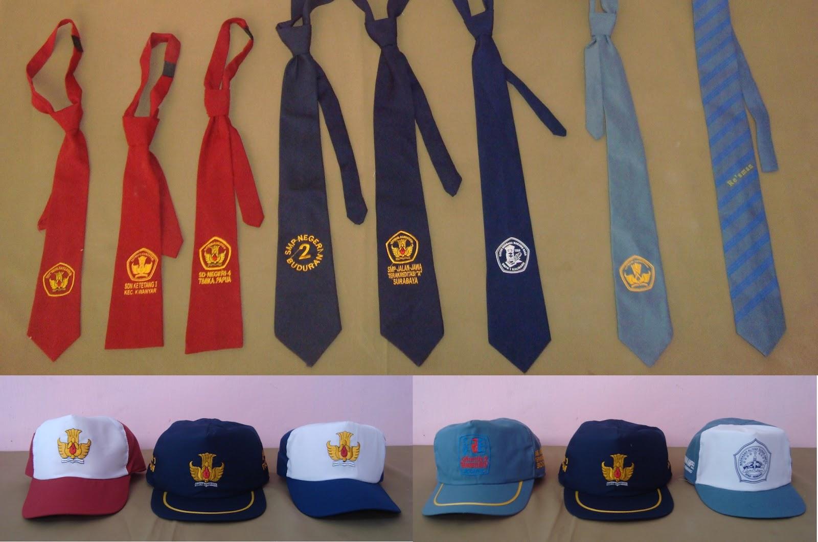 cv  wahana rejeki  topi  dasi dan kaos kaki sekolah