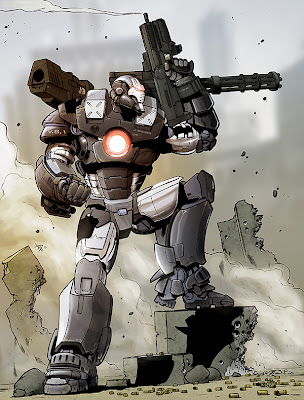 War Machine (Marvel Comics) Character Review - 5