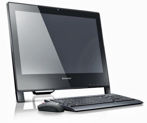 обычный дизайн моноблока IdeaCentre S710