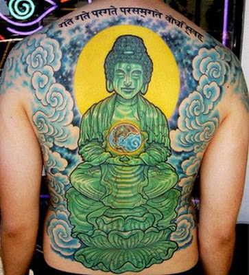 buddha tattoo design