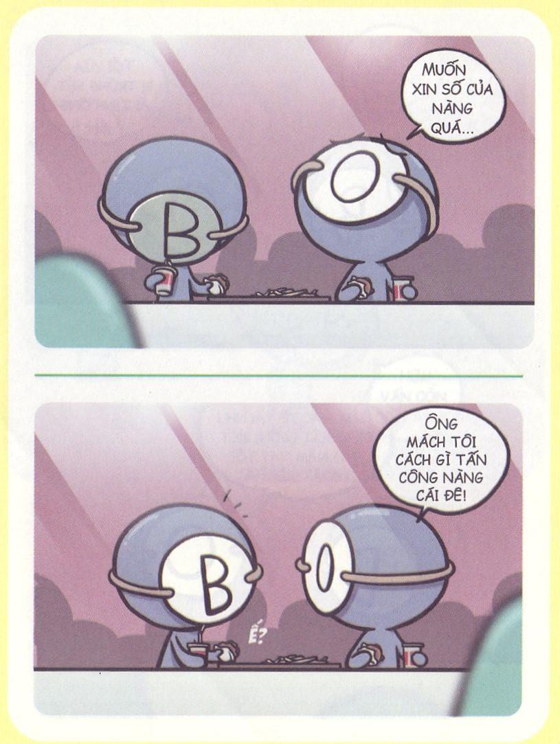Nếu bạn nói chuyện với người nhóm máu B