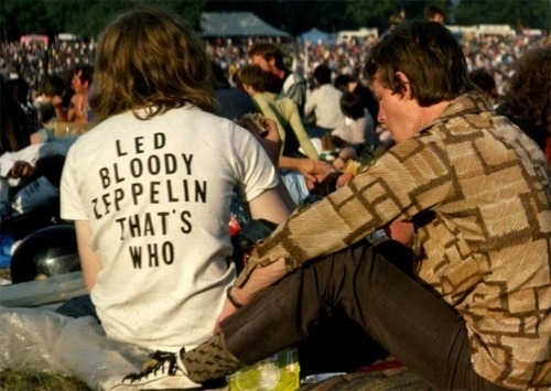 Led bloody Zeppelin, that's who