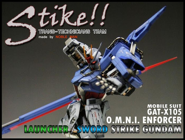 PG Launcher Strike Gundam