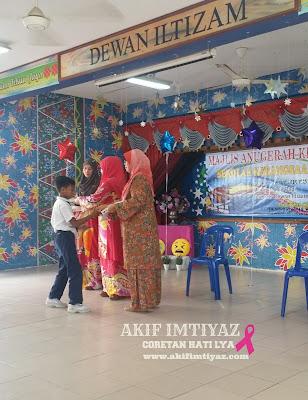 Majlis Anugerah Kecemerlangan SKSG 2015..Tahniah Iman