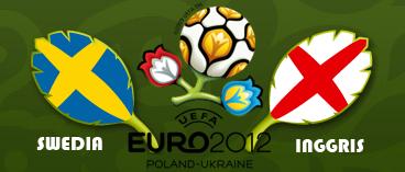 Prediksi hasil Swedia vs Inggris EURO 15 Juni 2012