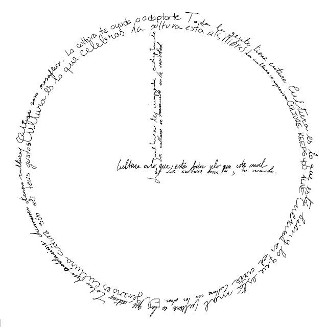 reloj,mecanicol, caligrama