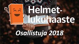 Helmet-lukuhaaste 2018