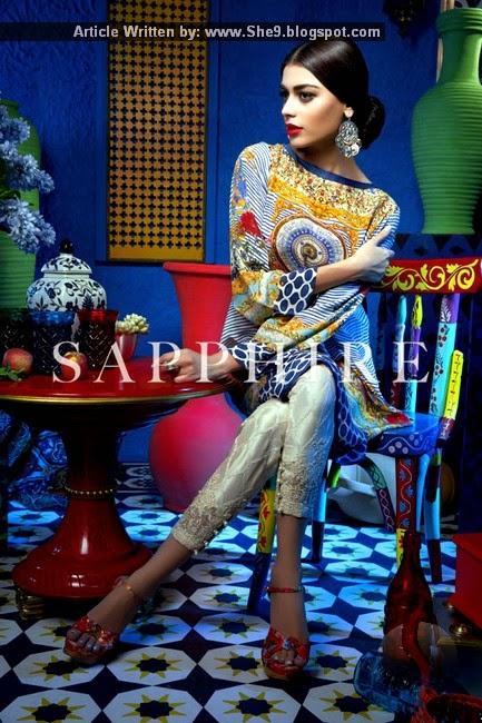 Sapphire Silk Ready To Wear