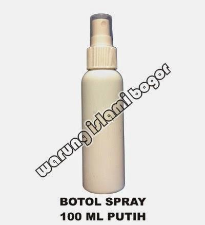 Jual Botol Spray Plastik 100ml Warna Putih Susu