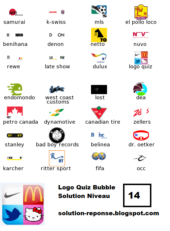 Solution Logo Quiz level 14