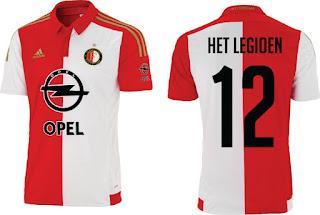 berita bocoranjersey terbaru musim depan Jersey Kandang Feyenoord 2015/2016 enkosa sport