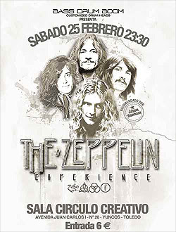 The Zeppelin Experience en Toledo en febrero