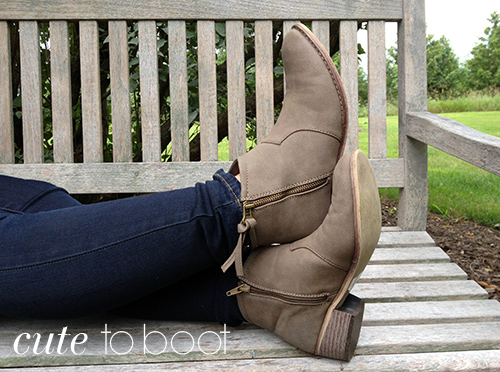 Aeropostale Tan Ankle Boots