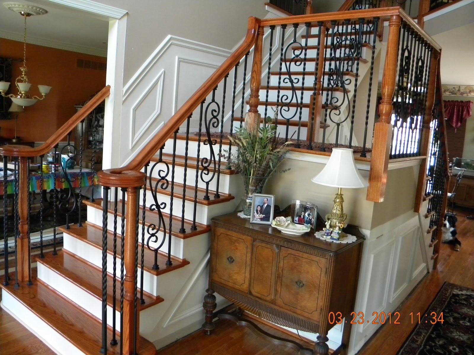 100 stair wood balusters stair interactive half turn stairc