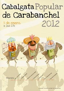 Cabalgata de Reyes 2012