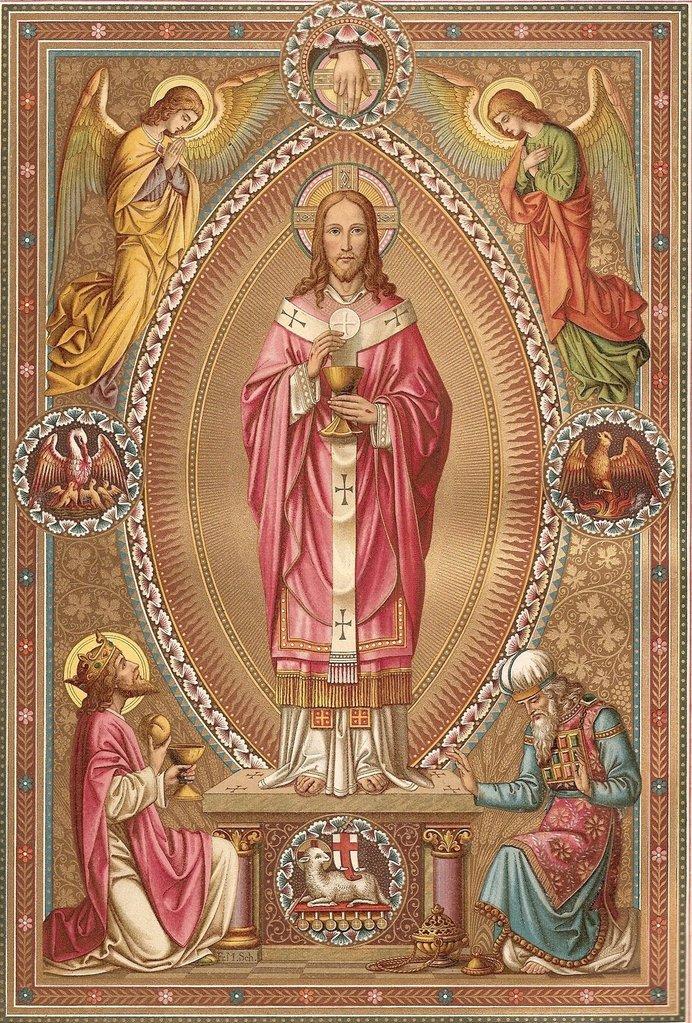 Znalezione obrazy dla zapytania jezusa chrystusa najwyższego i wiecznego kapłana