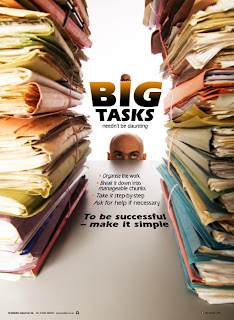 Large workload posters