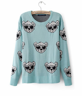http://www.aupie.com/ladies-new-style-glass-bear-patterns-mint-green-mercerized-cotton-knitting-sweater.html