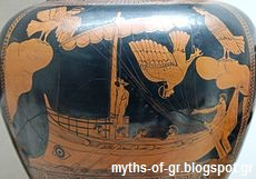 sirens attacking odysseus in greek mythology
