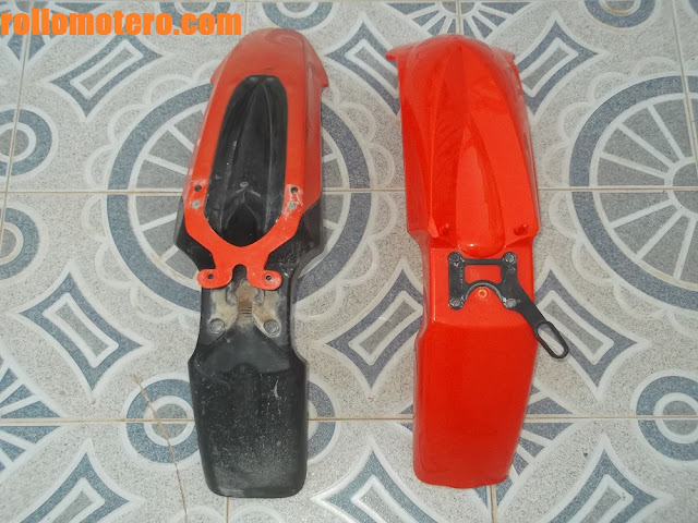 Different fenders KTM 640