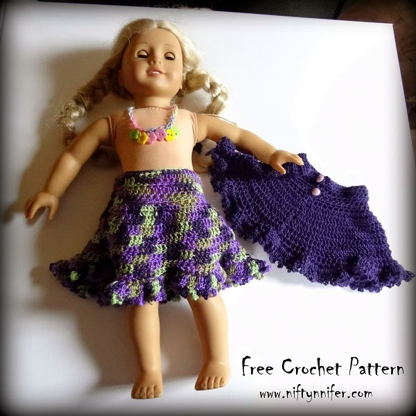 Niftynnifers Crochet Crafts Free Crochet Pattern Dollys Spring
