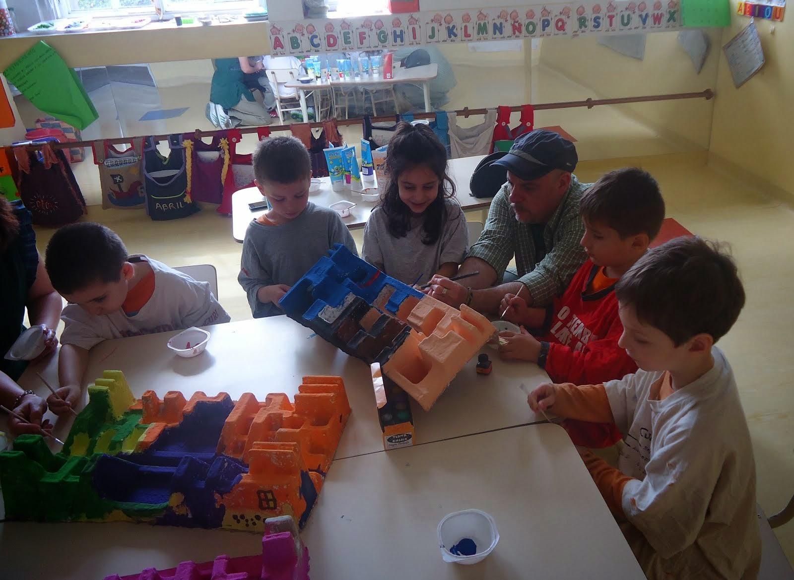 Día de arte. Escuela Infantil  SENASA . octubre 2014
