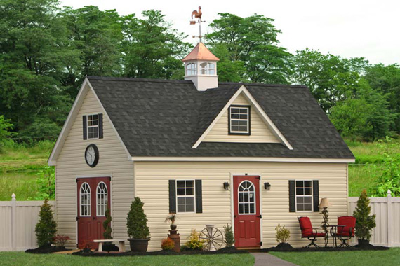 Sheds for sale in pa garden sheds for nj ny ct de md for Two story garages for sale