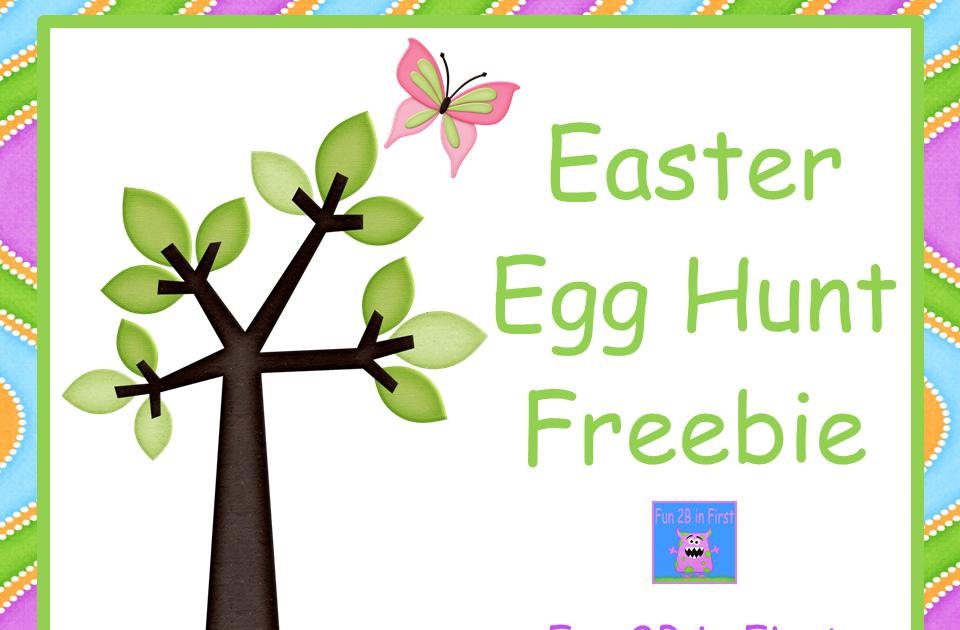 classroom freebies too easter egg hunt freebie