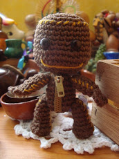 Sackboy amigurumi