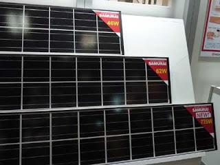 中国の太陽電池モジュール