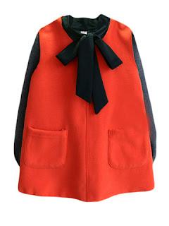 baju anak warna orange tahun 2016