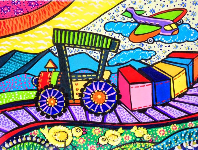 Cuadros modernos pinturas y dibujos cuadros modernos - Pintura dormitorios infantiles ...