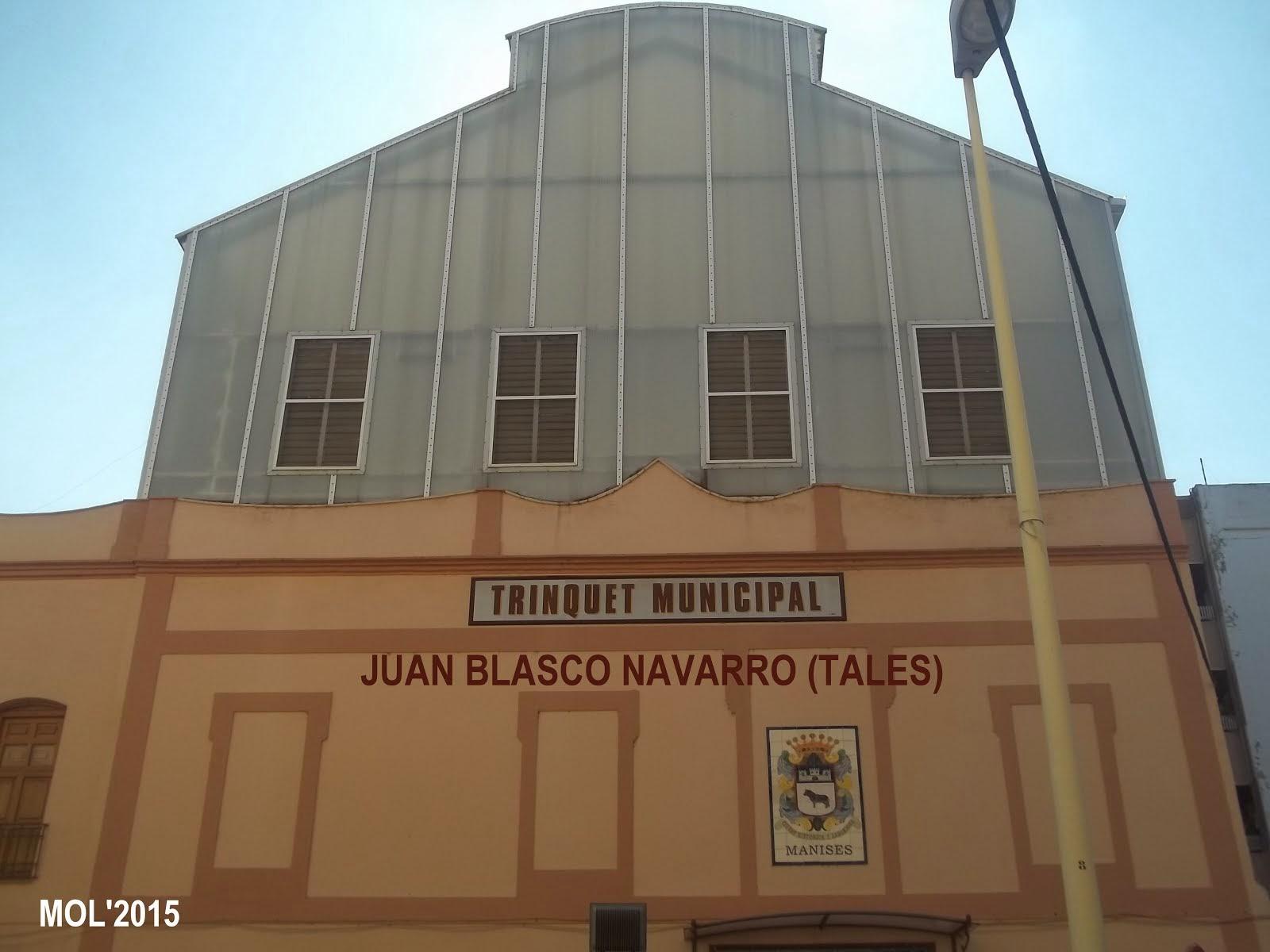 EL TRINQUET DE MANISES JUAN BLASCO NAVARRO-TALES