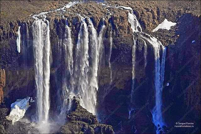 Taimyr Peninsula Waterfall
