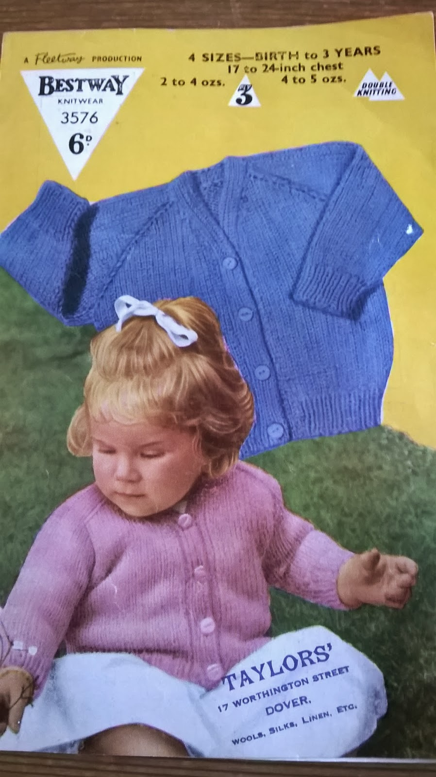 The Frugal Knit-Wit: Vintage Knitting