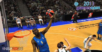 NBA 2K14 First Look At Gameplay - Gamescom 2013