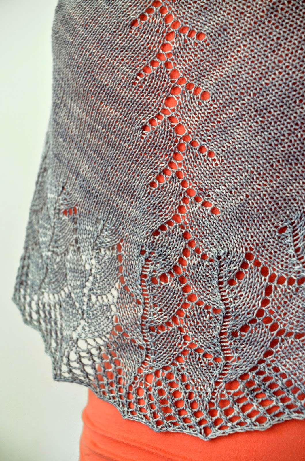 Cove Bay shawl pattern by Katya Frankel