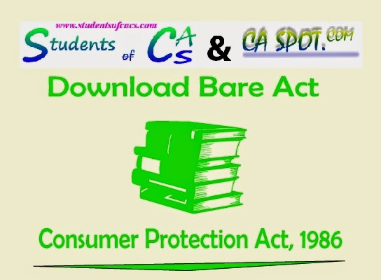 consumer protection act 1986 pdf